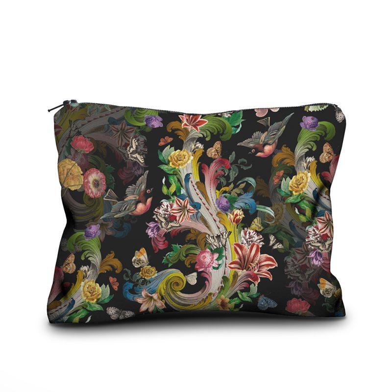 Voglio Bene Trousse 17x23cm Collection 2021 Modele Fleur de Rocaille