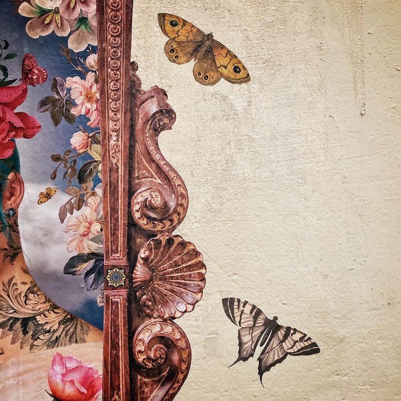 Détail du visuel le printemps avec des papillons
